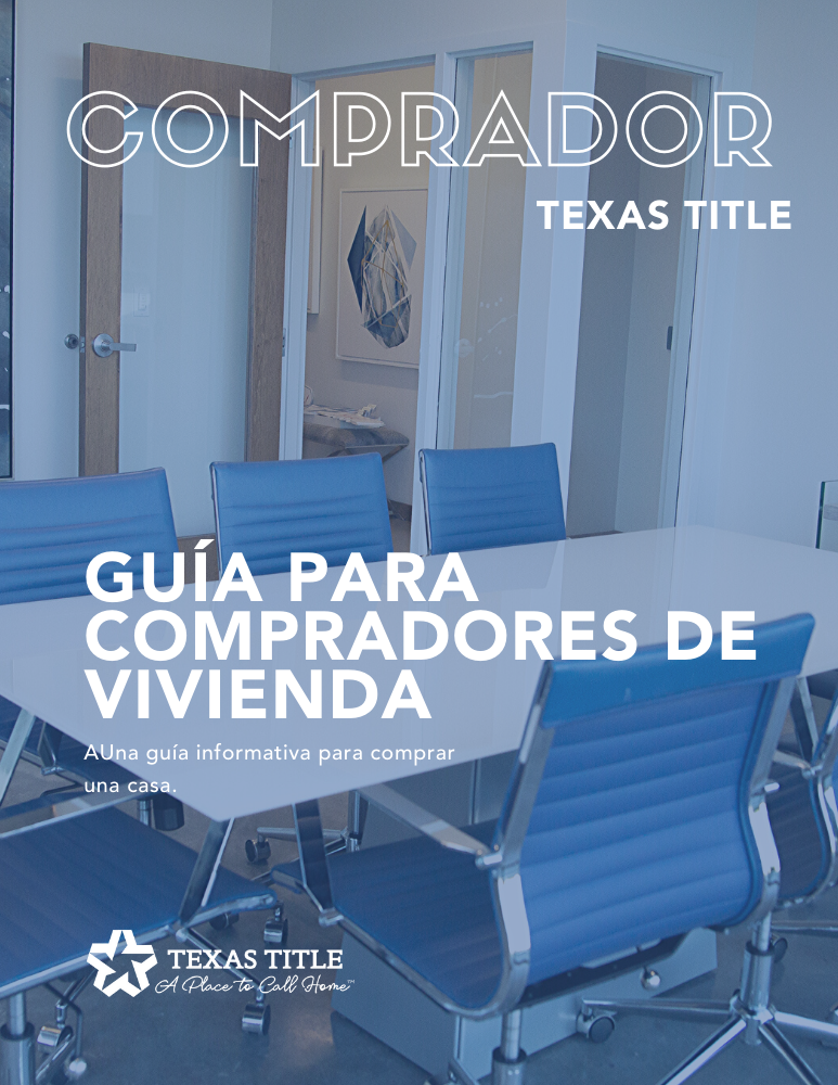 Homebuyers Guide Spanish