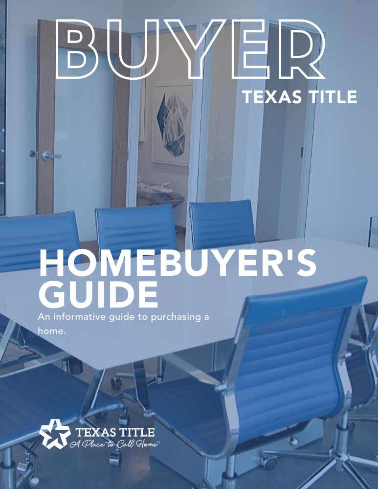 Texas Homebuyer Guide